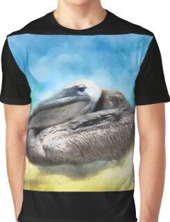 Old Mr. Pelican Graphic T-Shirt