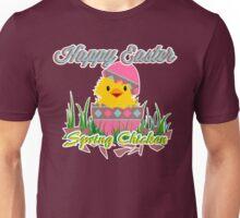 Easter: Spring Chicken Unisex T-Shirt