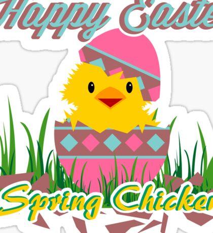 Easter: Spring Chicken Sticker