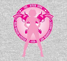 The River Song Society (Pink) Womens Fitted T-Shirt