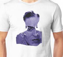 FRIDA Kahlo - between worlds - blue Unisex T-Shirt
