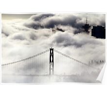 Foggy City Poster