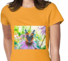 Disarmed by colour Womens Fitted T-Shirt