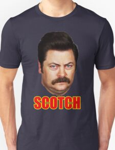 ron swanson scotch Unisex T-Shirt