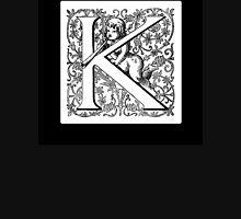 Elaborate letter K Mens V-Neck T-Shirt