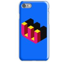 Letter W Isometric Graphic iPhone Case/Skin