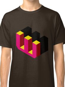 Letter W Isometric Graphic Classic T-Shirt