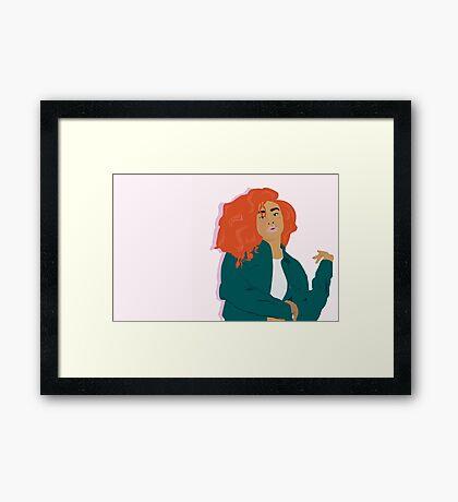 SZA Framed Print