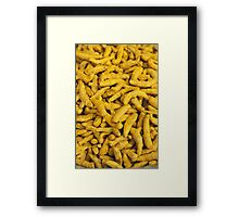 Turmeric - the wonder spice Framed Print