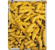 Turmeric - the wonder spice iPad Case/Skin