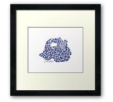 Dormiens Zarafah: The Sleeping Giraffe Framed Print