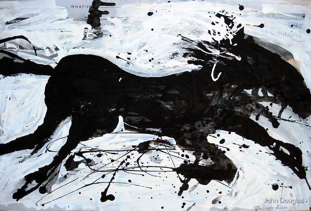 Black Horse 2 by John Douglas