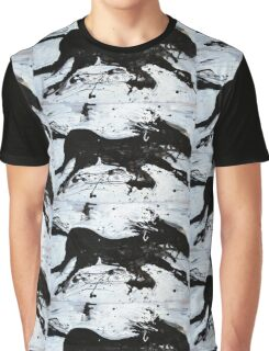 Black Horse 2 Graphic T-Shirt