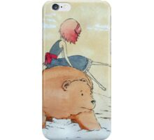 when the snow fell iPhone Case/Skin