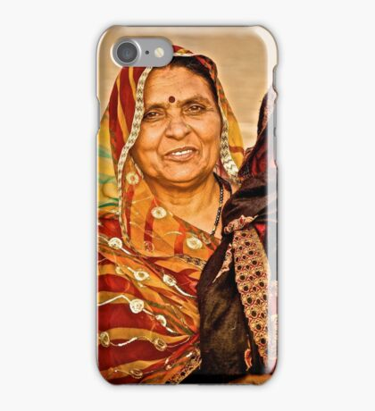 After Puja iPhone Case/Skin