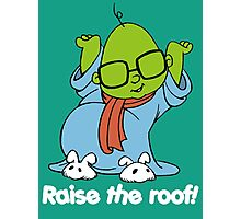 Muppet Babies - Bunsen - Raise The Roof - White Font Photographic Print