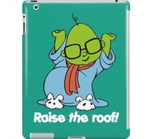 Muppet Babies - Bunsen - Raise The Roof - White Font iPad Case/Skin