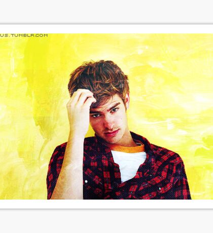 Andrew Garfield in Yellow Sticker