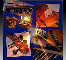 Glory of Music Collage by BlueMoonRose