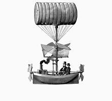Vintage Steampunk Flying Machine Unisex T-Shirt