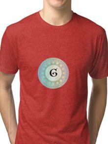 G Pastel Circle Tri-blend T-Shirt