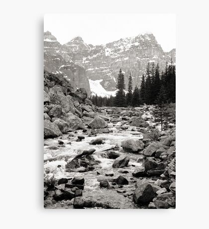 Banff National Park 1974 Series, Num 1 Canvas Print