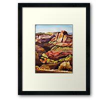Escalante Vista Framed Print