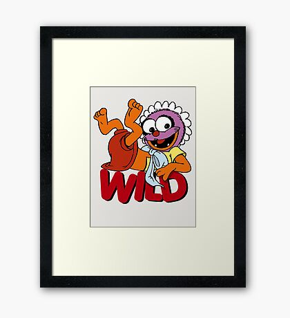 Muppet Babies - Baby Animal - Wild Framed Print
