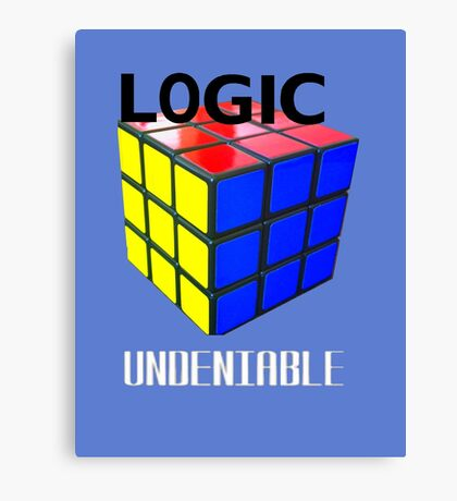 Logic's Cube Canvas Print