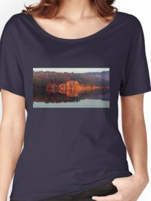 Early Morning Serenity George Lake Women's Relaxed Fit T-Shirt