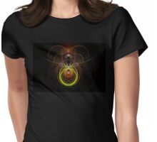 Martian mouse Womens Fitted T-Shirt