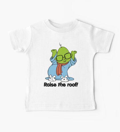 Muppet Babies - Bunsen - Raise The Roof - Black Font Baby Tee