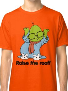 Muppet Babies - Bunsen - Raise The Roof - Black Font Classic T-Shirt
