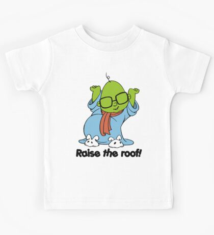 Muppet Babies - Bunsen - Raise The Roof - Black Font Kids Tee
