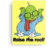 Muppet Babies - Bunsen - Raise The Roof - Black Font Metal Print