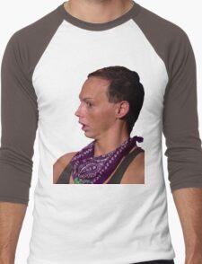 BACK ROLLS?! Men's Baseball ¾ T-Shirt