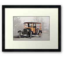 1926 Ford Model T Depot Hack Framed Print