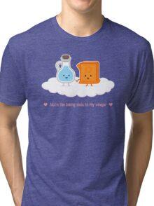 Love, Vinegar, and Baking Soda Tri-blend T-Shirt