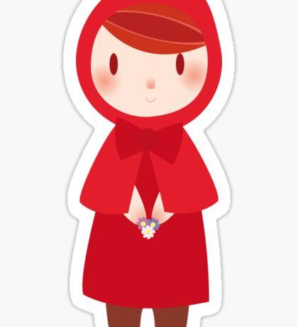 Little Red Cap Sticker