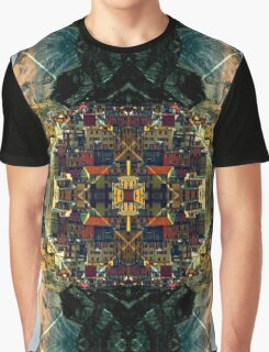 Cubism Dream Graphic T-Shirt