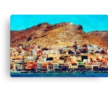 Kalymnos - Greek Island Canvas Print