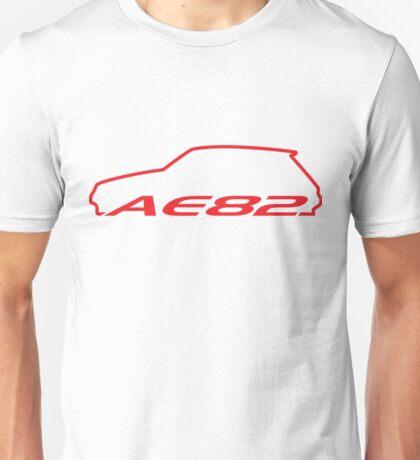 AE82 Hatch - Red Unisex T-Shirt