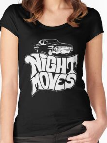 Night Moves Women's Fitted Scoop T-Shirt