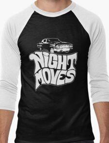 Night Moves Men's Baseball ¾ T-Shirt