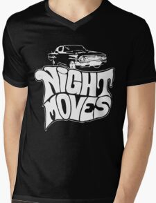 Night Moves Mens V-Neck T-Shirt