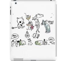 Kate's hospital drawings iPad Case/Skin