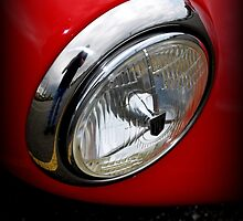 Maserati Headlight by Lynn Bawden