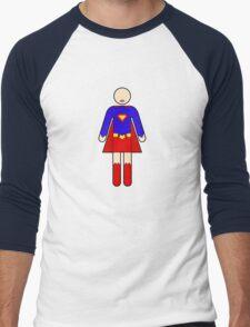 Ladies Room 2 Men's Baseball ¾ T-Shirt
