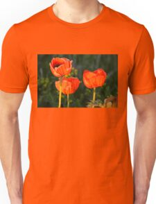 Sunset Poppies Unisex T-Shirt