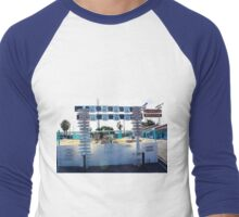 Traveling Route 66 From the El Rancho Men's Baseball ¾ T-Shirt